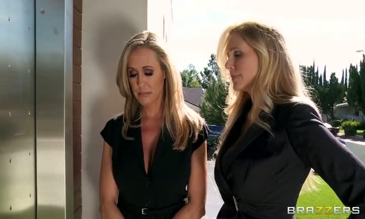 Brandy Love et Julia Ann aiment les grosses queues
