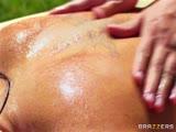 Massage, sexe et ejac en exterieur