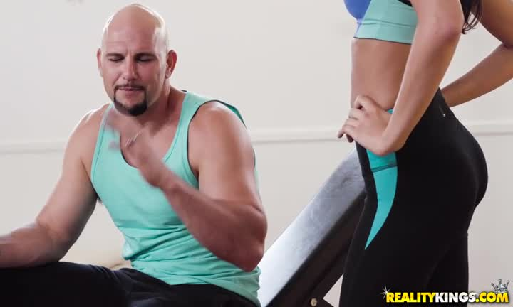 Baise pendant la séance de muscu