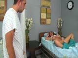 Sophie Dee à l'hôpital